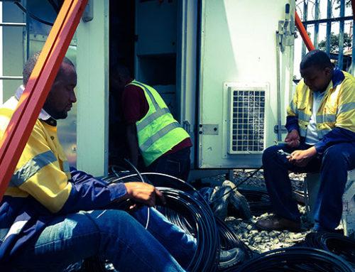 Transmission  Terminal Installation – Vodacom